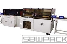 VERTICAL AUTOMATIC L-BAR SEALING & SHRINKING MACHINE